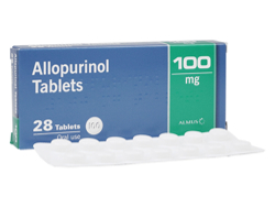 アロプリノール(Allopurinol) 100mg Crescent Pharma