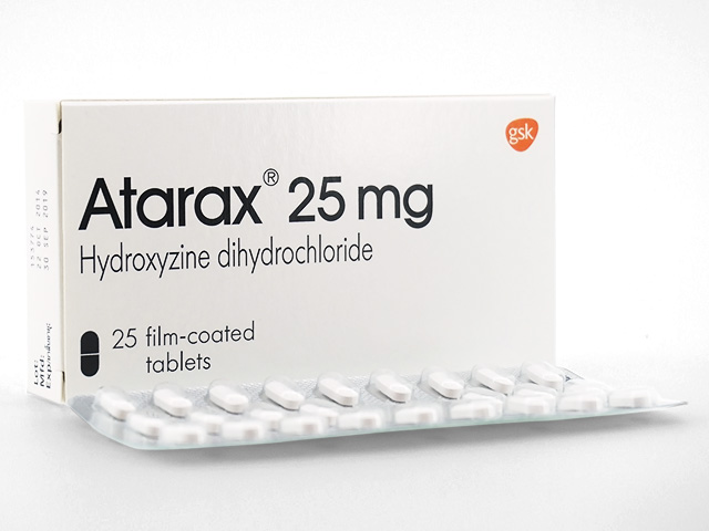 Usual Dose Of Atarax