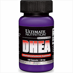 DHEA 50mg(Ultimate Nutrition Inc Made in USA)